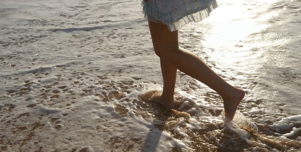 Strandspaziergang auf Sri Lanka vom Ayurvie Weligama Resort aus
