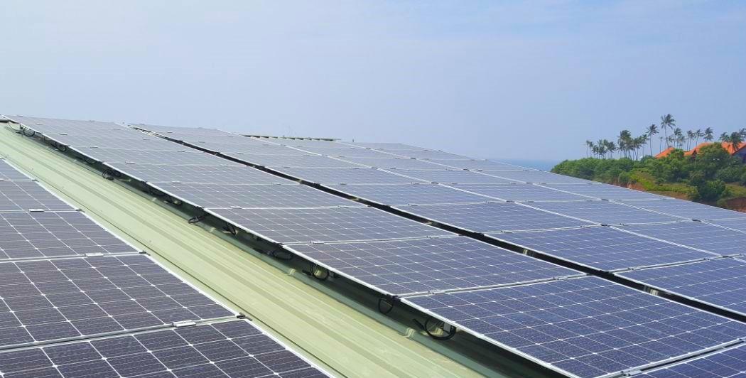 Das Ayurvie wird vollständig über die eigenen Solarzellen betrieben