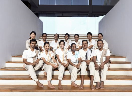 Ayurveda Massagen Behandlungsraum auf Ayurveda Reisen im Ayurvie