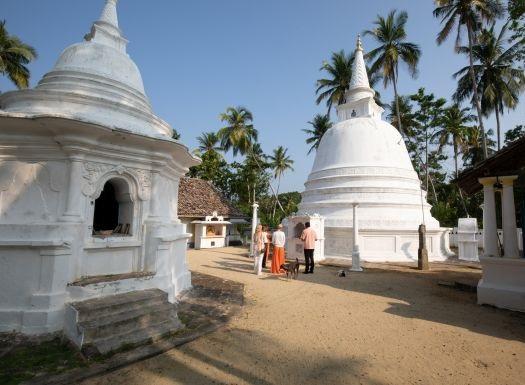 Strandspaziergang bei der Ayurveda-Kur Sri Lanka
