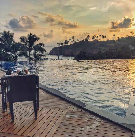 Markus Hegemann bringt seine Reise-Kenntnisse im Ayurvie Weligama Resort ein
